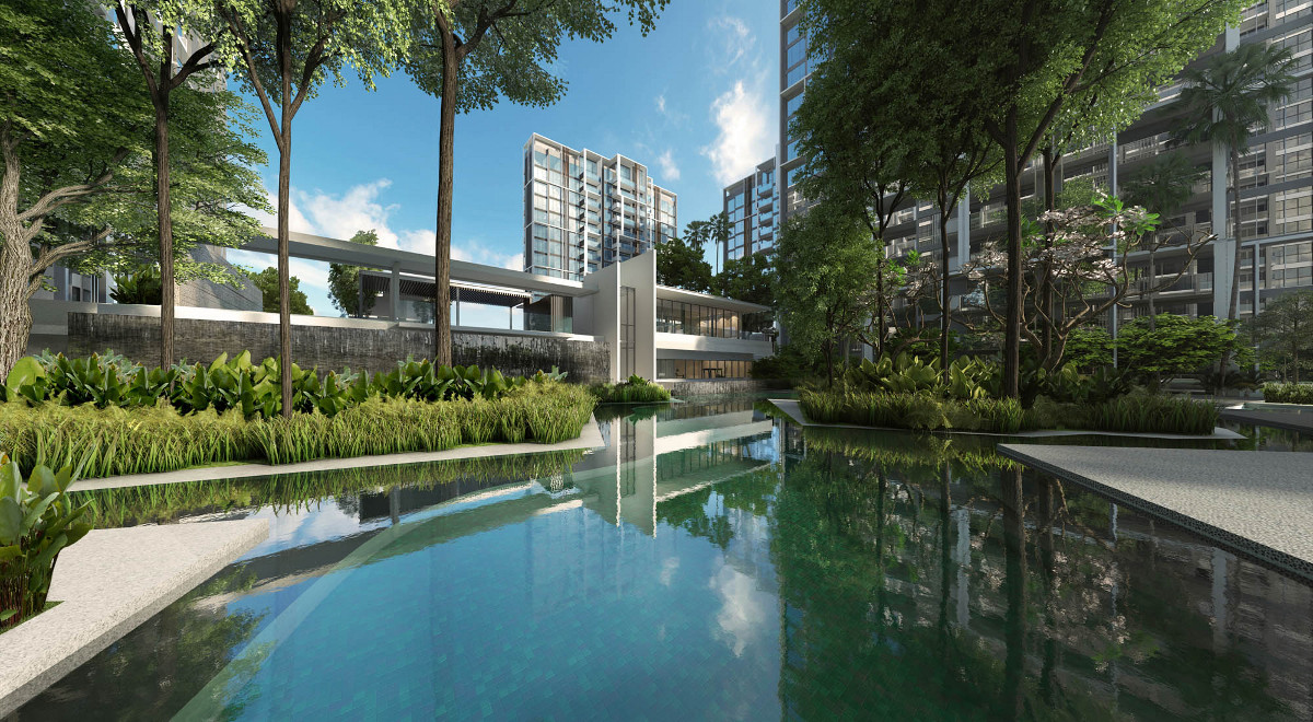 buy Botanique Bartley by UOL at Bartley MRT Station  | book botanique bartley