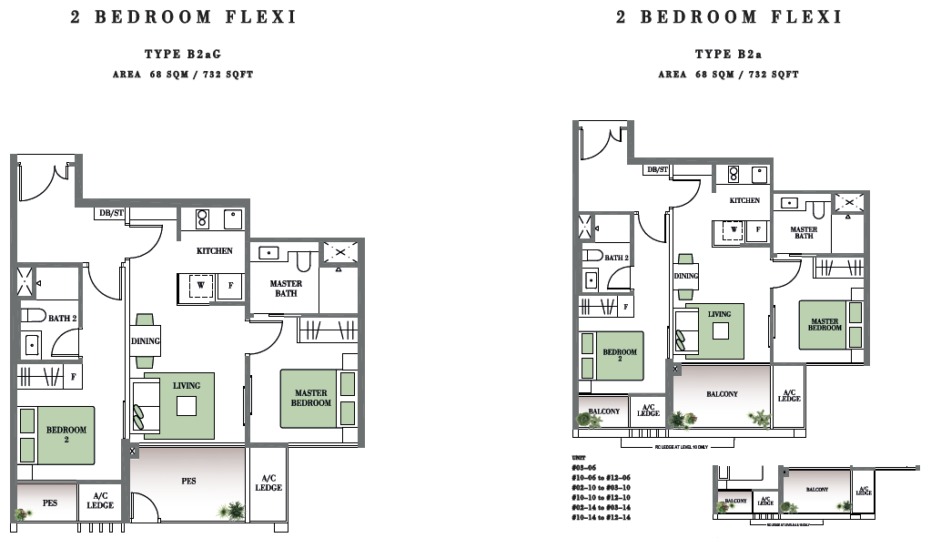 Botanique floor plans botanique bartley condo floor plan for 4 unit condo plans