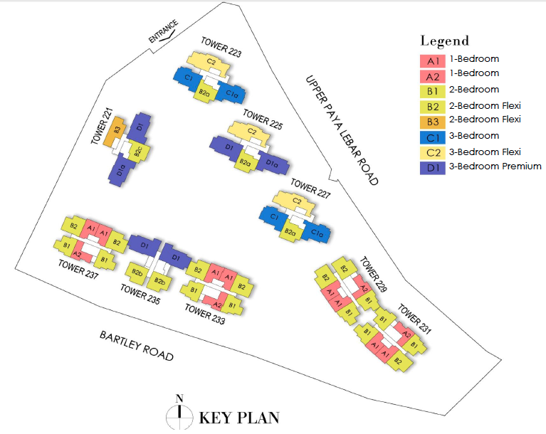 Botanique Floor Plans . Unit Types Layout